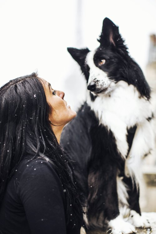 runwithurdog hiver neige paris Lola Ledoux