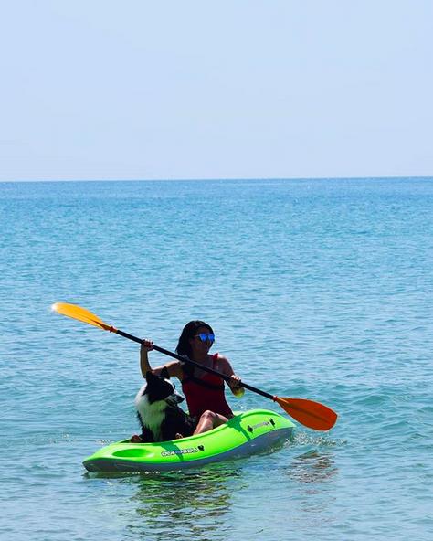 canikayak kayak avec son chien