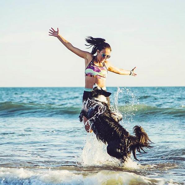 Partir en vacances avec un chiensportif